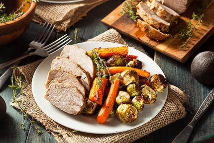 image: Maple Balsamic Pork Tenderloin